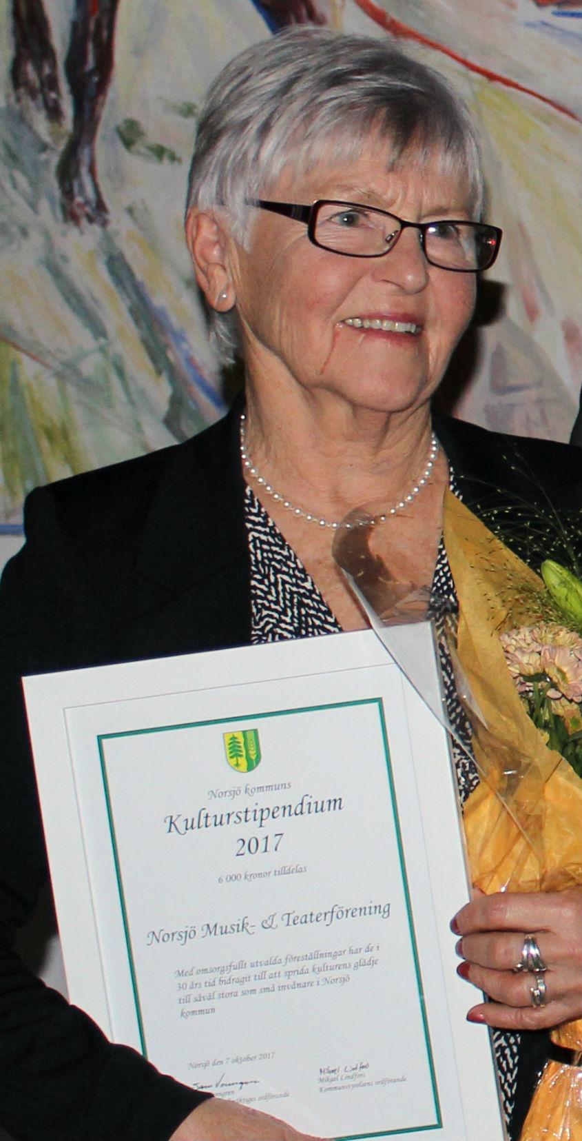 Norsjö musik och teater - kulturstipendium